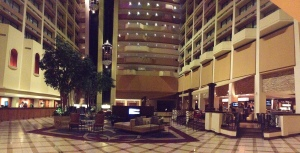 Lobby of the Houston Marriott Westchase