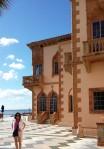 A 1200' terrace with fantastic views at Ca d'Zan, the Ringlings' palatial home