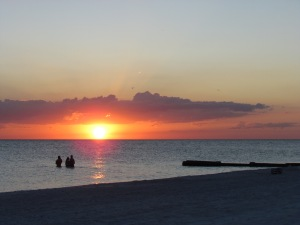 Another stunning Florida sunset on Madeira Beach.