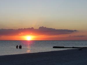 Another stunning Florida sunset on Madeira Beach.