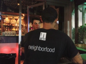 A Coconut Grove restaurant shows some local attitude