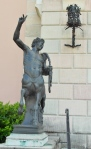 One of two centaurs guarding the Ringling Museum of Art