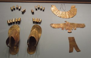 Funery items of a wife of Thutmose III