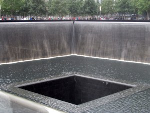 9/11 Water Wall