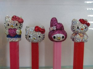 Bedazzled Hello Kittys