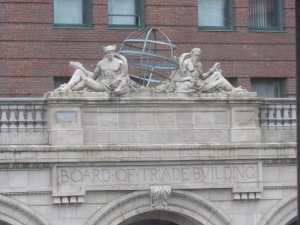 Board of Trade Building embellishments