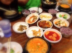 Kunjip's wonderful lunch