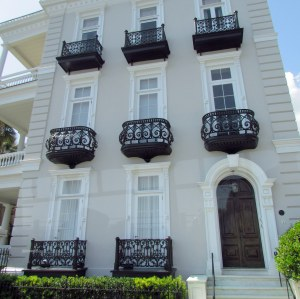 Beautiful example of wrought iron artistry