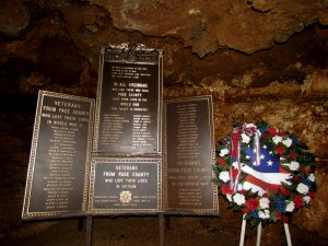 Luray caverns vet memorial