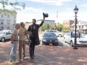 Gettysburg greeter!