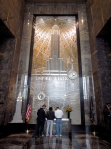Empire State art