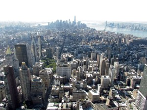 Our view from the Empire State Building