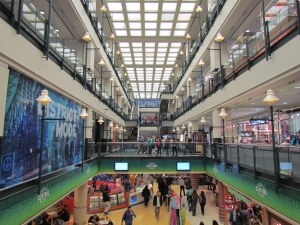 Montreal's underground shopping experience