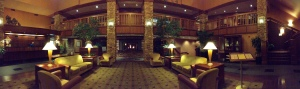 Quail Hollow Resort's lobby