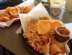 Central BBQ gave us delicious food with a dollop of southern hospitality!