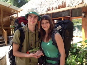 Nicolas and Johanna with Equi