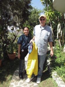 Employee and La Casa del Mundo owner, Bill
