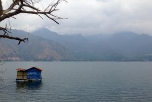 The peaceful cove of San Pedro La Laguna