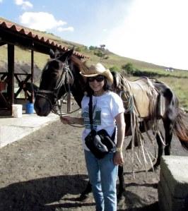 I DO love horse rides!