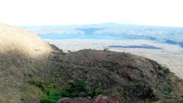 Laguna de Masaya in the distance